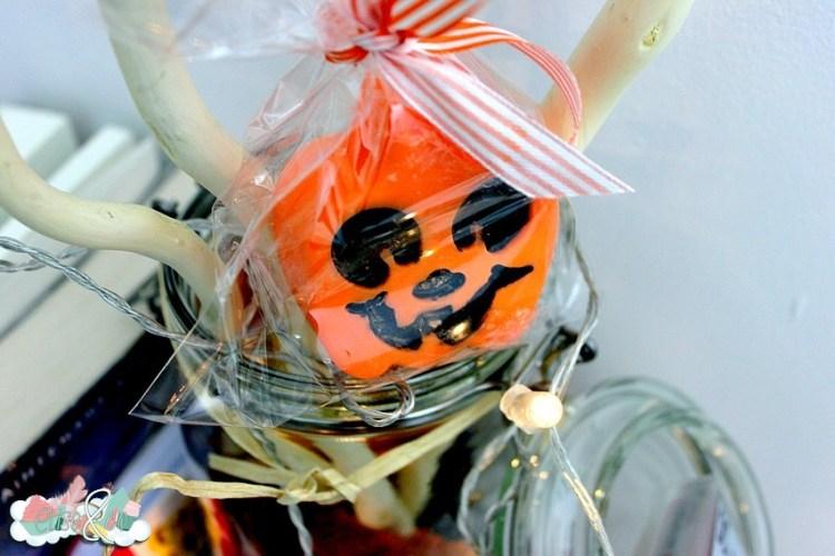 Chez Kelina créations - Bougies Halloween speculos - EliseandCO