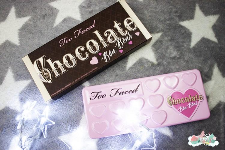 La Chocolate Bon Bons palette de chez Too Faced [Revue, Swatch, Tutoriel]