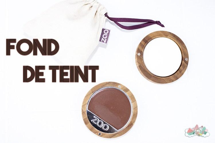 Revue Zao - Fond de teint compact