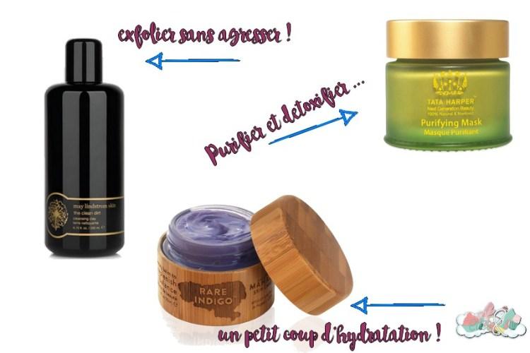 Green Luxe La routine visage de mes rêves - Purifier et Renouveller ma peau ! Elise&Co