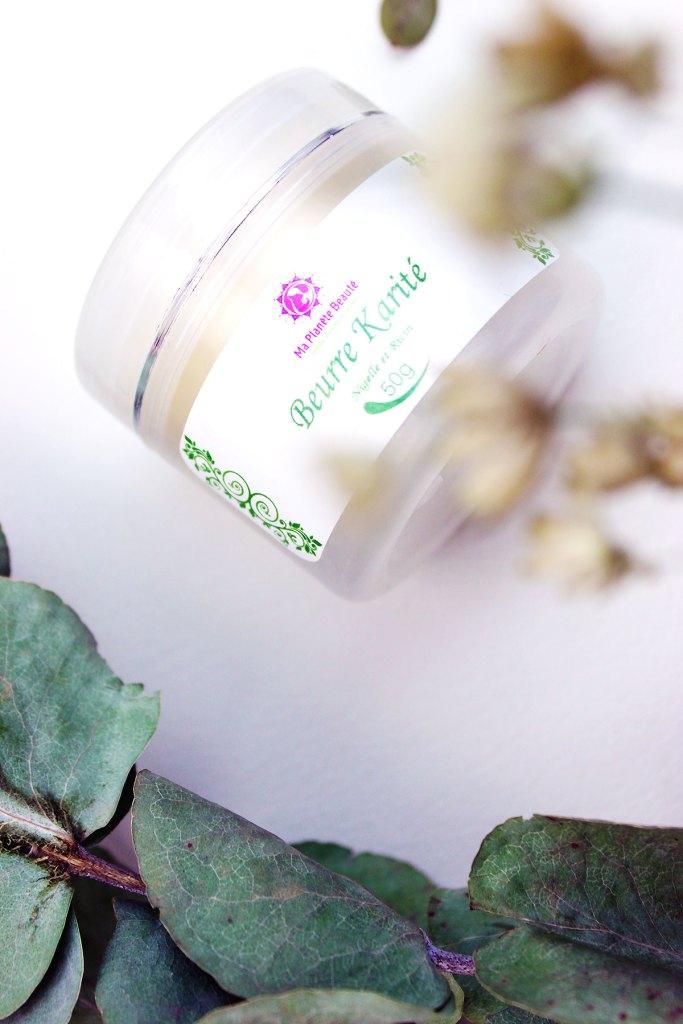 Beurre Karité (Nigelle et Ricin) - Ma Planète Beauté - Bain - Massage - Sceller - EliseAndCo