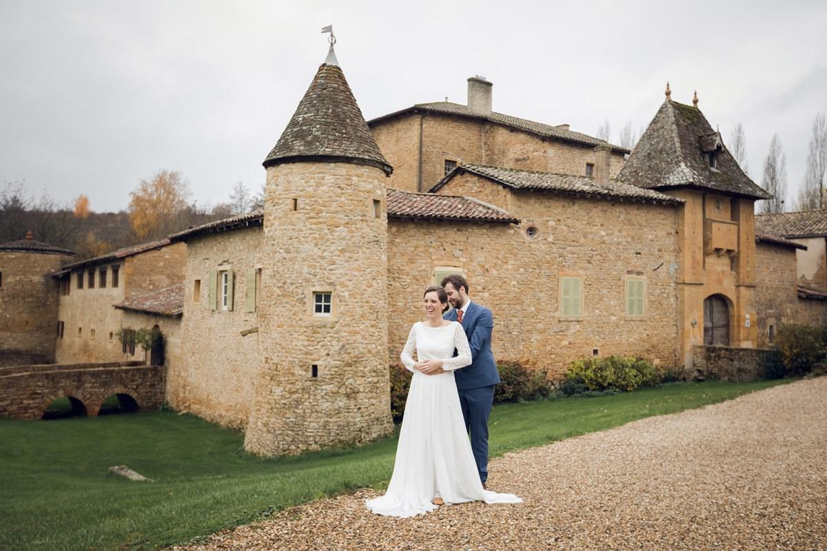 photographe mariage villefranche sur saone chateau du sou