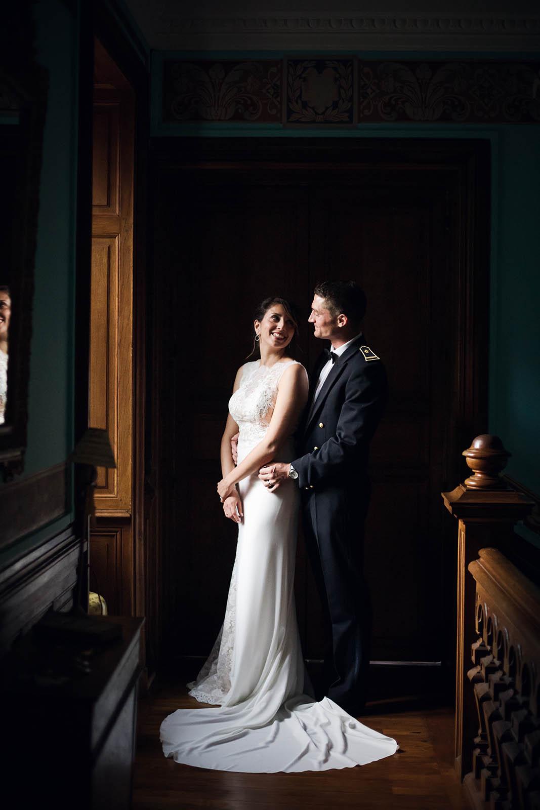 mariage chic château du guérinet