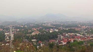 Vue depuis le Mont Phousi