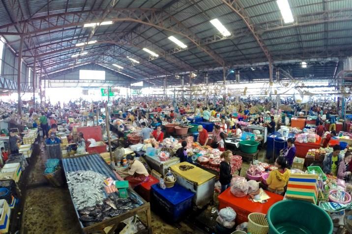 Le marché Tao Heuang de Paksé
