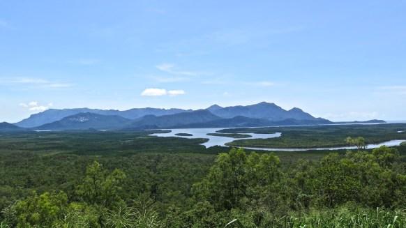 Hichinbrook Island vue depuis Pajoo Lookout