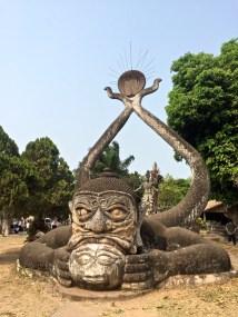 Statues à Buddha Park