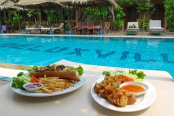 Dejeuner Battambang Cambodge blog voyage 17