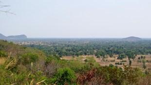 Vue temple Banan Battambang Cambodge blog voyage 9