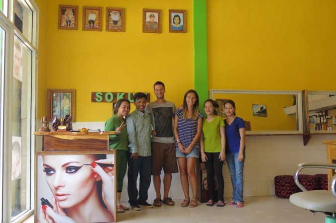 Coiffeur Kampot Kep Cambodge blog voyage 1