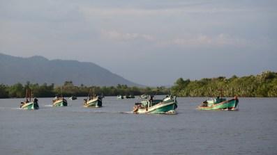 Bateau peche Kampot Kep Cambodge blog voyage 2