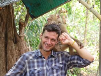 Robin Singe Gibbon valley Kampot Kep Cambodge blog voyage 26