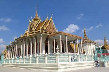 Pagode d'Argent Phnom Penh Cambodge blog voyage 7