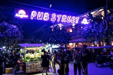 Pub Street Siem Reap angkor cambodge blog voyage