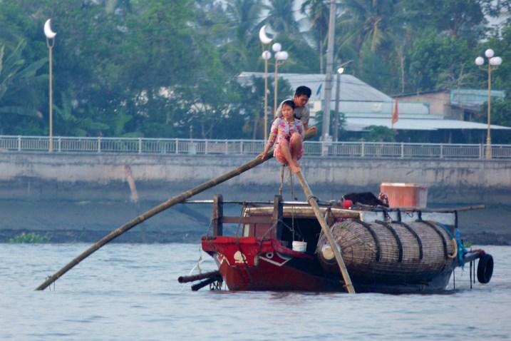 Pécheur Mékong Can Tho Delta Mekong Vietnam blog voyage 2016 16