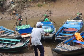 Batelier Can Tho Delta Mekong Vietnam blog voyage 2016 20