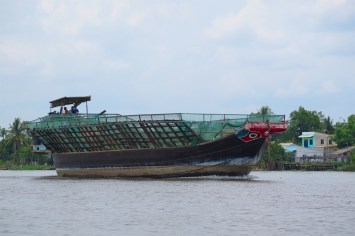 Jonque Can Tho Delta Mekong Vietnam blog voyage 2016 23