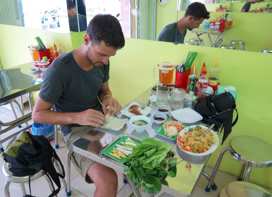 Springrolls Can Tho Delta Mekong Vietnam blog voyage 2016 3