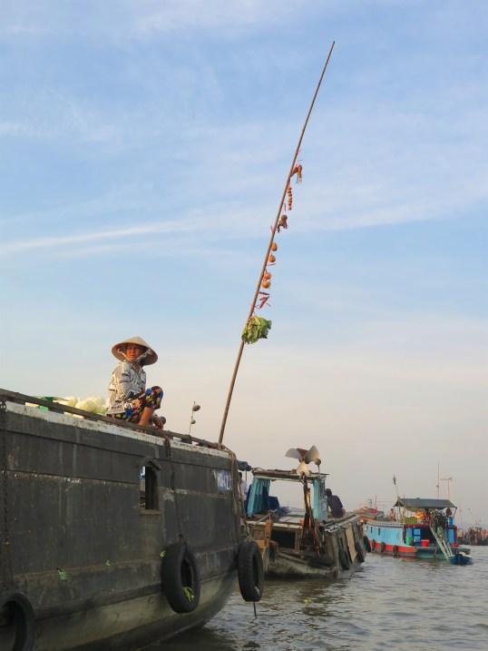 Marché flottant Cai Rang Can Tho Delta Mekong Vietnam blog voyage 2016 7
