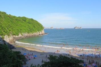 Plage 2 Cat Ba Baie Halong Vietnam blog voyage 2016 2