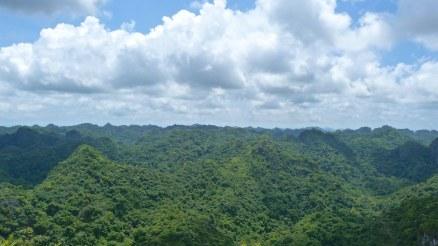 Sommet Ngu Lam Cat Ba Baie Halong Vietnam blog voyage 2016 5