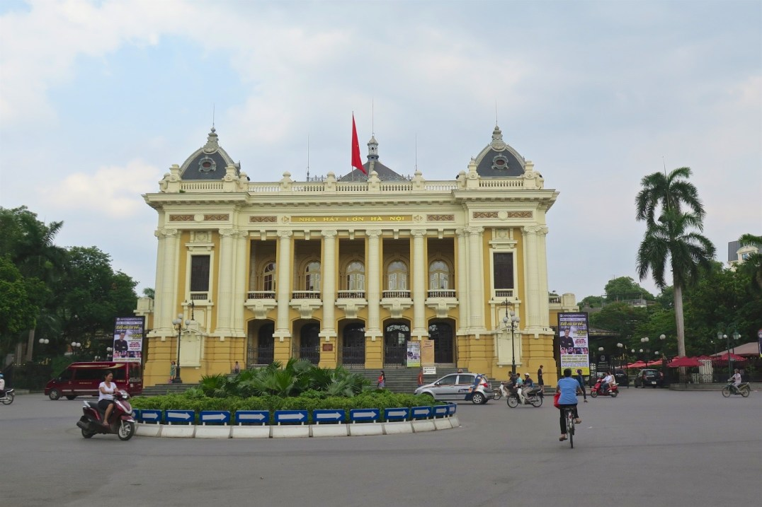 Opera Hanoi Vietnam blog voyage 2016 3