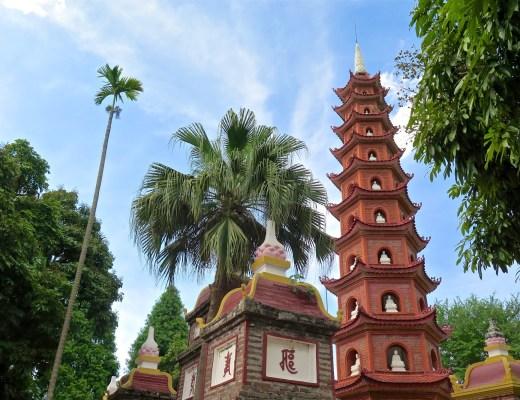 Pagode Tran Quoc Hanoi Vietnam blog voyage 2016 37