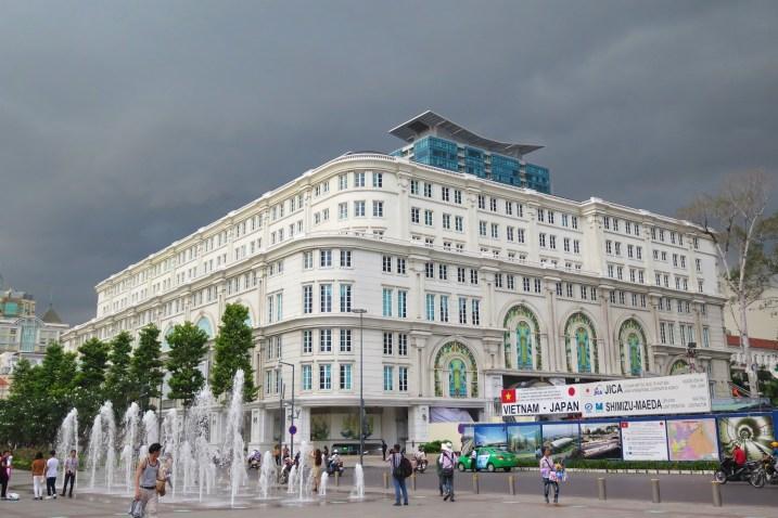 Union Square Hochiminh ville Vietnam blog voyage 2016 28