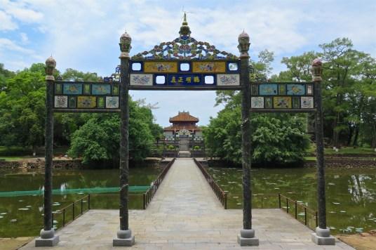 Mausolée Minh Mang Hue Vietnam blog voyage 2016 11