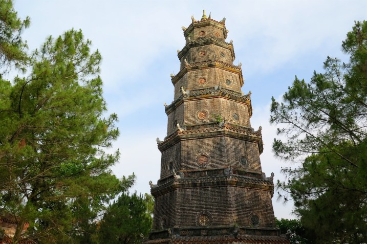 Pagode de Thien Mu Hue Vietnam blog voyage 2016 17