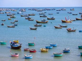 Bateaux port Mui Ne Vietnam blog voyage 2016 3
