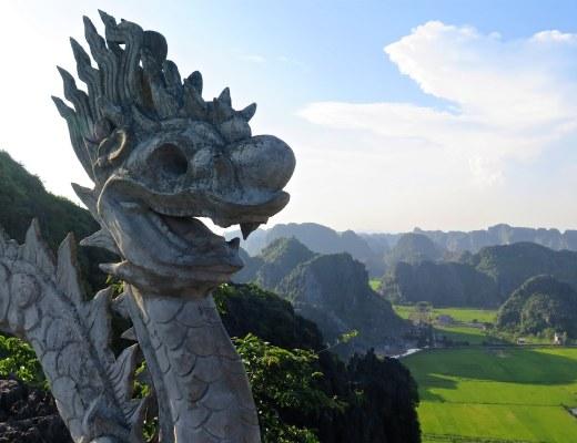 Dragon Hang Mua Tam Coc Baie Halong terrestre Vietnam blog voyage 2016 22