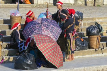 Vendeuses Dzao Trek Sapa Vietnam blog voyage 2016 3
