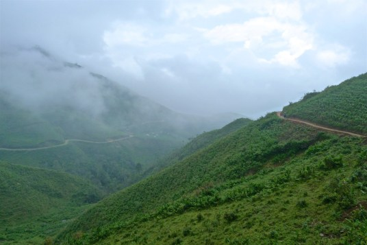 Montée col Trek Sapa Vietnam blog voyage 2016 46