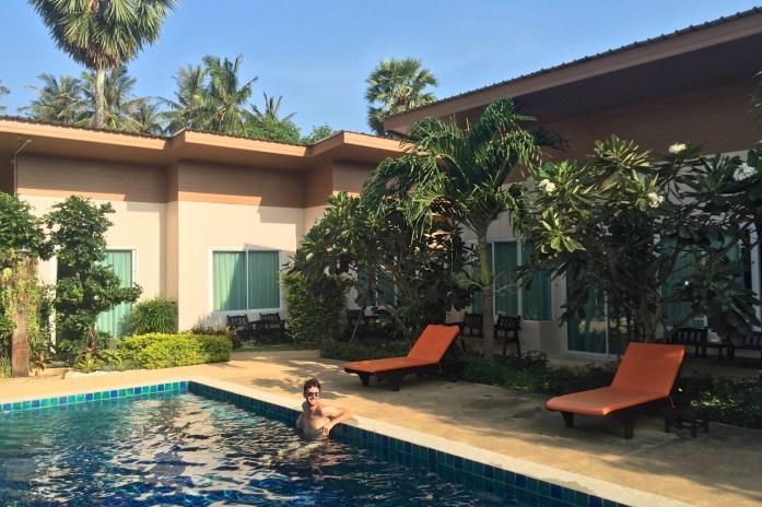 Piscine Phuket Thailande blog voyage 2016 2