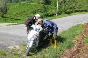 Scooter Tanah Rata Cameron Highlands Malaisie blog voyage 2016 11