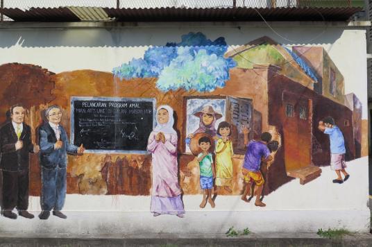 Street art Ipoh Kuala Kangsar Malaisie blog voyage 2016 15