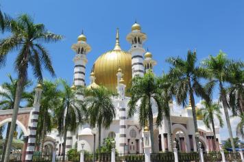 Mosquée Ubudiah Ipoh Kuala Kangsar Malaisie blog voyage 2016 23