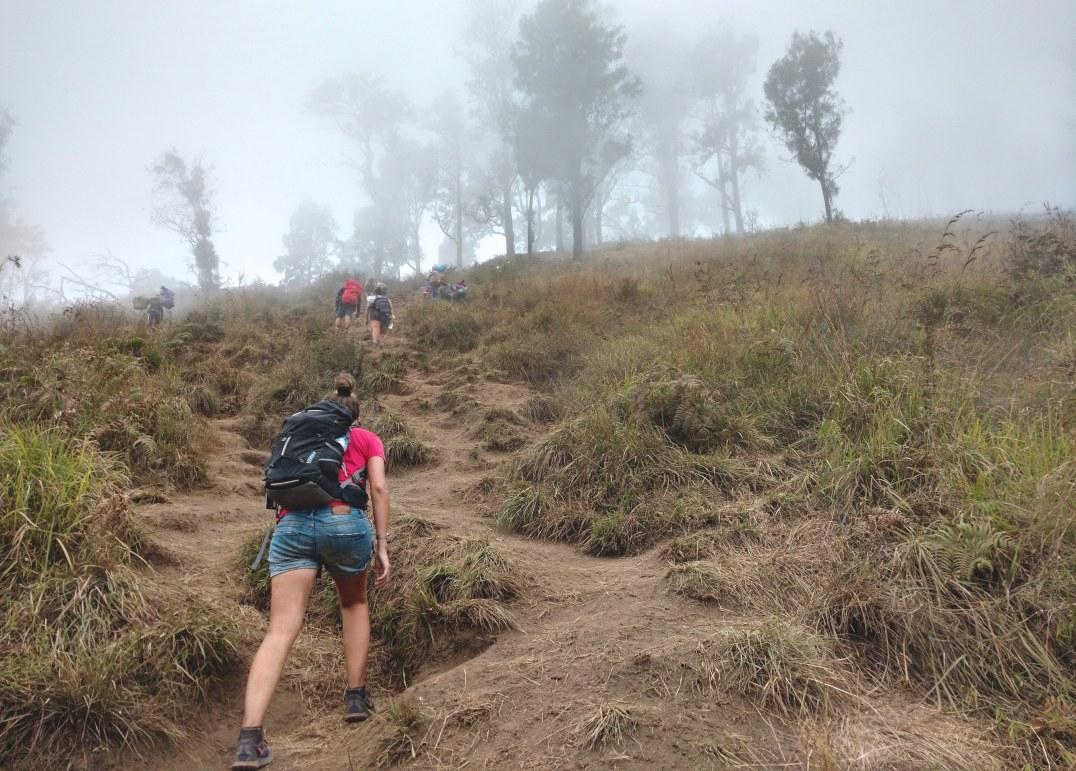 Montée trek-rinjani-lombok-indonesie-blog-voyage-2016-10
