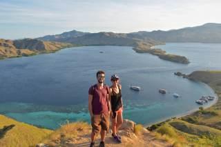 Enfin des collègues touristes qui prennent une belle photo de nous 😂