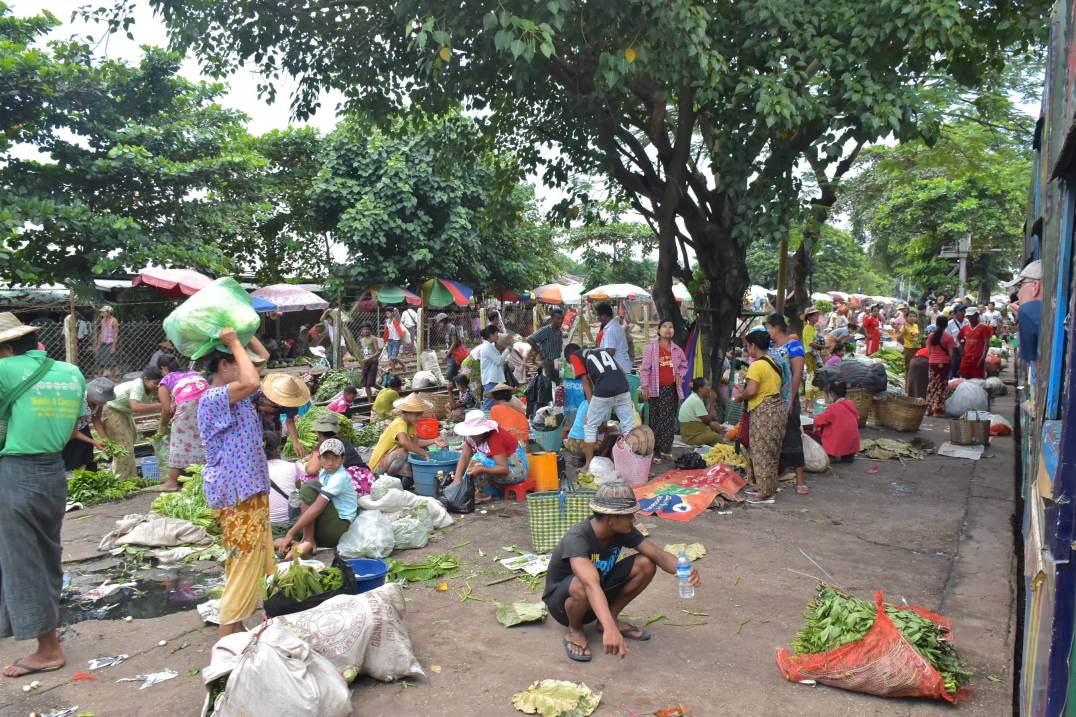 Marché de Danyingon Yangon-Myanmar-Birmanie-blog-voyage-2016 28