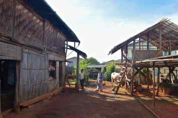 Maison traditionnelle Trek-Kalaw-Inle-Myanmar-blog-voyage-2016 64