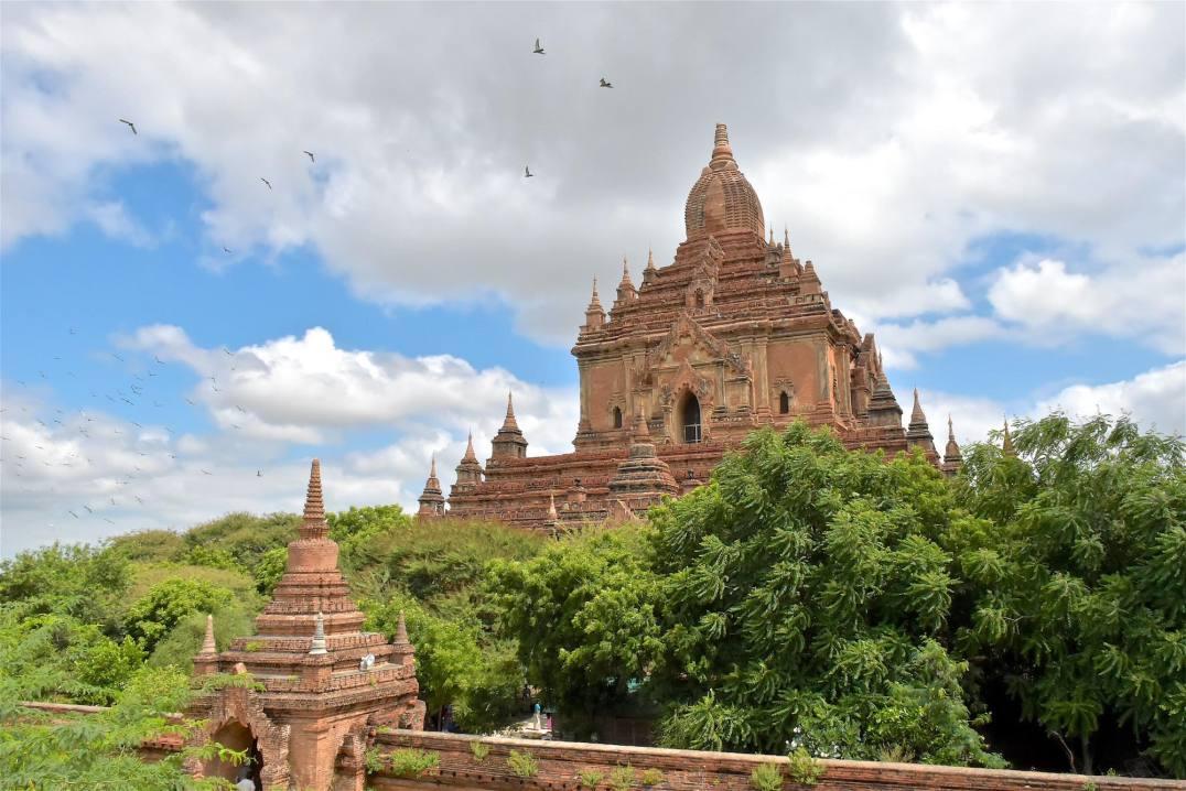 Temple Htilominlo Decouverte-Bagan-Myanmar-Birmanie-blog-voyage-2016 12