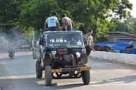 Tracteur camion Hsipaw Myanmar blog voyage 2016 23