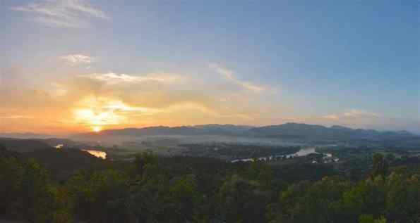 Coucher soleil Hsipaw Myanmar blog voyage 2016 26