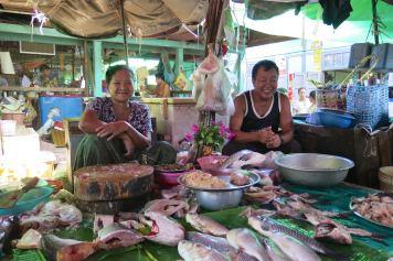 Vendeurs de poissons Mandalay-Inwa-Ubein-Myanmar-Birmanie-blog-voyage-2016 23