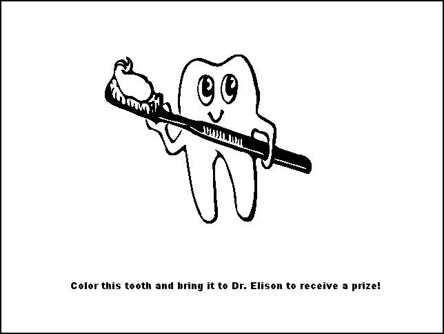 toothbrush and toothpaste coloring page tooth holding a toothbrush