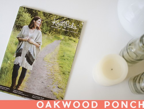 KnitPicks Catalog Oakwood Poncho