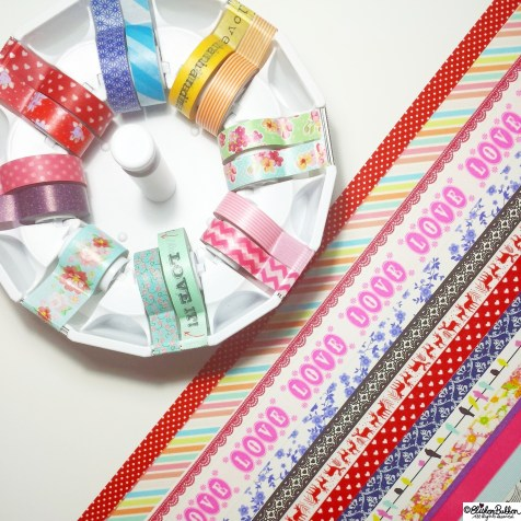 Day 23 - W is for...Washi Tape - Photo-a-Day October 2014 - Eliston Button A to Z of Craft at www.elistonbutton.com - Eliston Button - That Crafty Kid – Art, Design, Craft & Adventure.