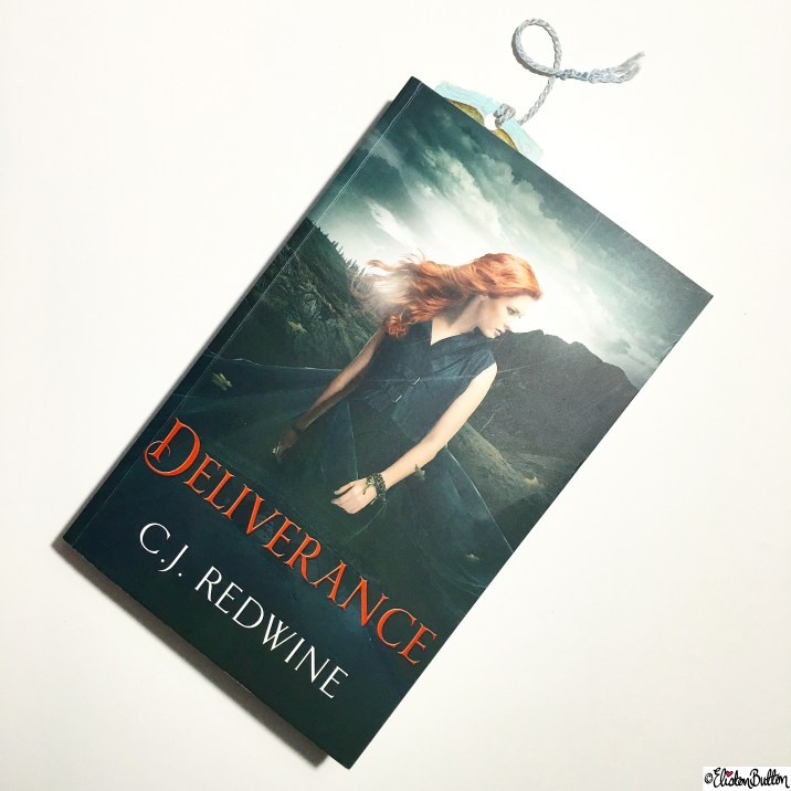 Day 07 - Reading - Deliverance by C.J. Redwine - Photo-a-Day - January 2016 at www.elistonbutton.com - Eliston Button - That Crafty Kid – Art, Design, Craft and Adventure.